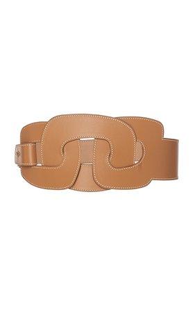 Maison Vaincourt Leather Waist Belt