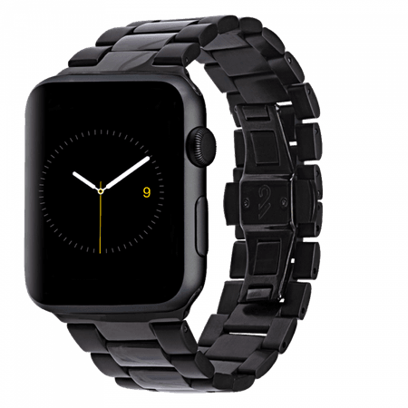 Black Apple Watch Band 42mm Linked Band | Case-Mate