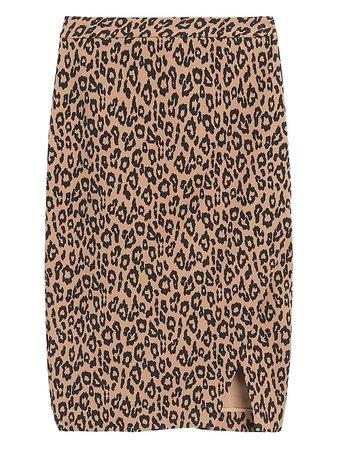 Bi-Stretch Wrap-Front Pencil Skirt | Banana Republic