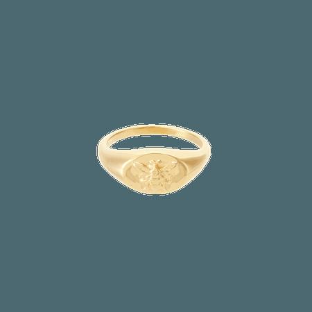 Honey Mini Signet | Mejuri