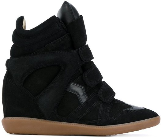 Bekett hidden-wedge sneakers