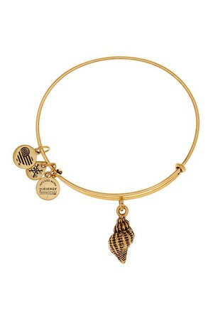 Alex and Ani | Conch Shell Expandable Wire Charm Bracelet | Nordstrom Rack