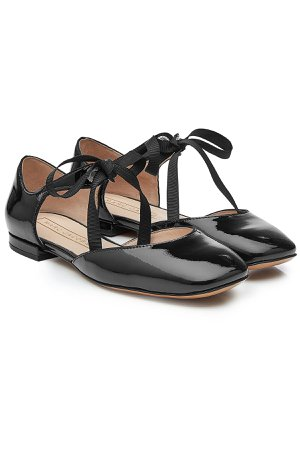Patent Leather Mary-Jane Flats Gr. IT 39