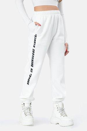 NOT BASIC Sweatpants – Adika White