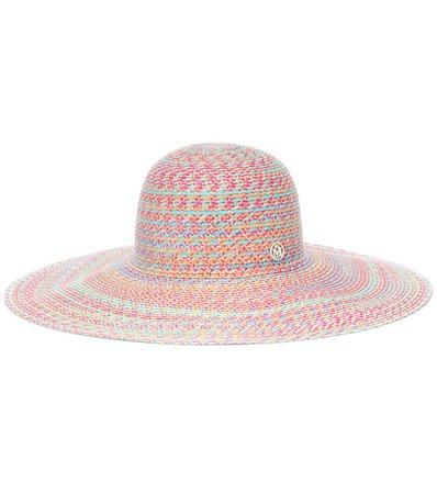 Blanche Straw Hat - Maison Michel | Mytheresa