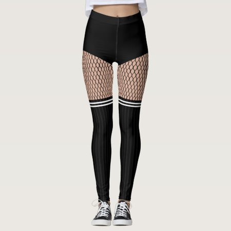 fishnets and long socks - Google Search