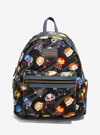 Loungefly Marvel Avengers: Endgame Chibi Characters Mini Backpack