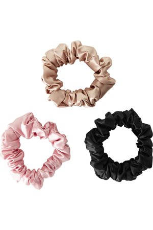Slip | Set of 3 silk hair ties | NET-A-PORTER.COM