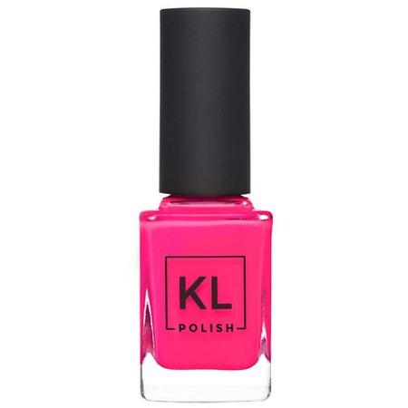 Hot-Pink Nail Polish