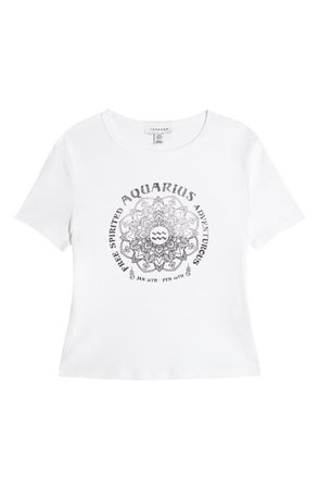 Topshop Horoscope Graphic Tee | Nordstrom