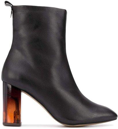 London block heel boots