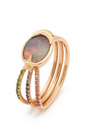 Bibi van der Velden Opal Shooting Star Ring