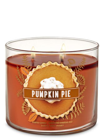 Pumpkin Pie 3-Wick Candle | Bath & Body Works