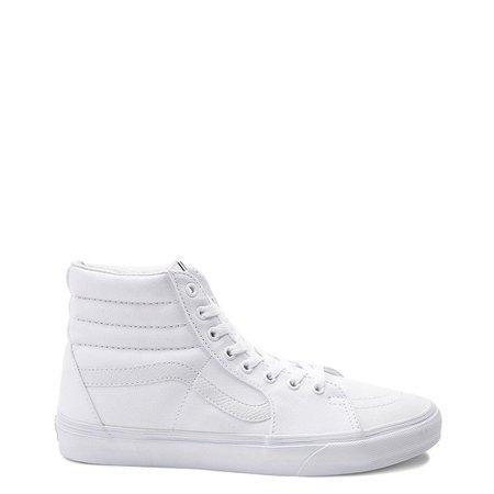 Vans Sk8 Hi Skate Shoe - White | Journeys
