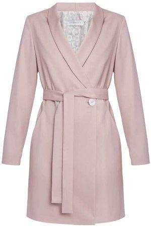 Undress Teoma Pale Pink Blazer Dress