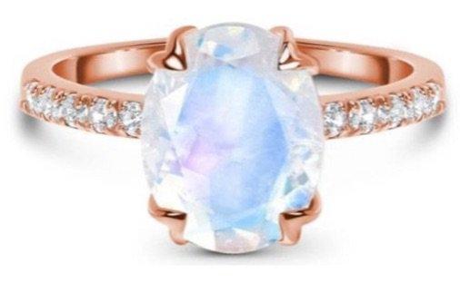 Moon Magic Moonstone ring