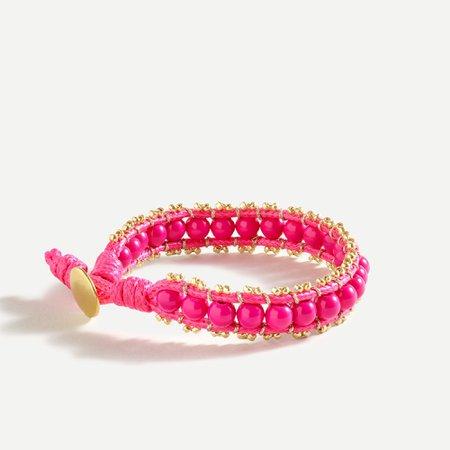 J.Crew: Beaded Wrap Bracelet For Women