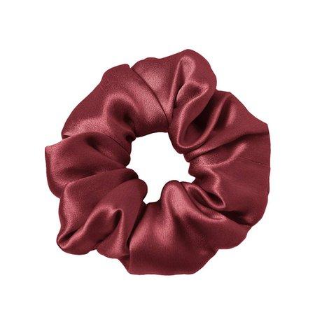 Amazon.com : LilySilk Silk Charmeuse Scrunchy -Regular -Scrunchies For Hair - Silk Scrunchies For Women Soft Hair Care Silver Grey : Beauty