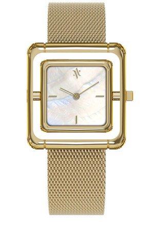 VANNA Umbra Watch in Gold & Pearl | REVOLVE