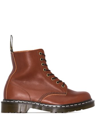 Dr. Martens 1460 Pascal Leather Ankle Boots - Farfetch