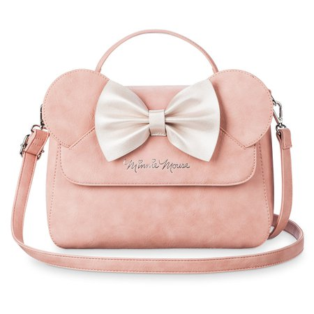 Minnie Mouse Pink Bow Crossbody Bag by Loungefly | shopDisney