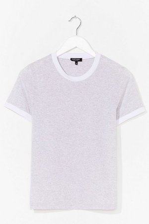 Ringers a Bell Contrasting Tee | Nasty Gal