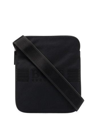BOSS pixel logo crossbody bag - FARFETCH