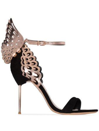 Sophia Webster Evangeline 100mm Butterfly Ankle Sandals - Farfetch