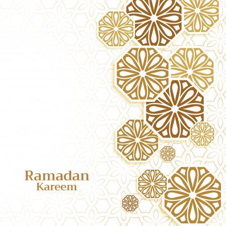 Free Vector | Islamic decoration background for ramadan kareem season
