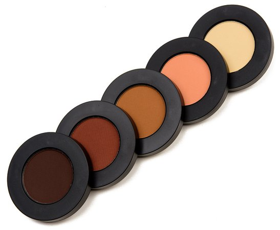 Melt Cosmetics Rust Eyeshadow Stack