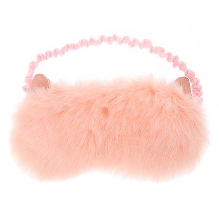 Fuzzy Cat Sleep Mask