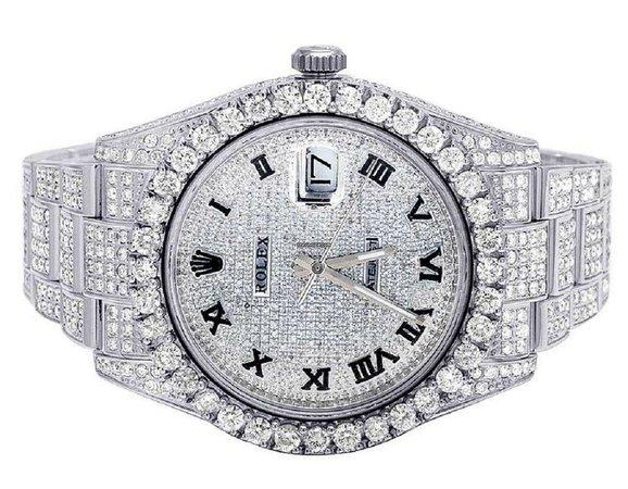 rolex diamond