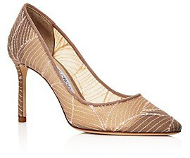 Women's Romy 85 Pointed-Toe Pumps