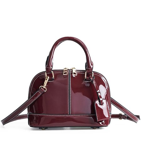 Patent Top Handle Handbag (4 Colors) – Mary Cheffer