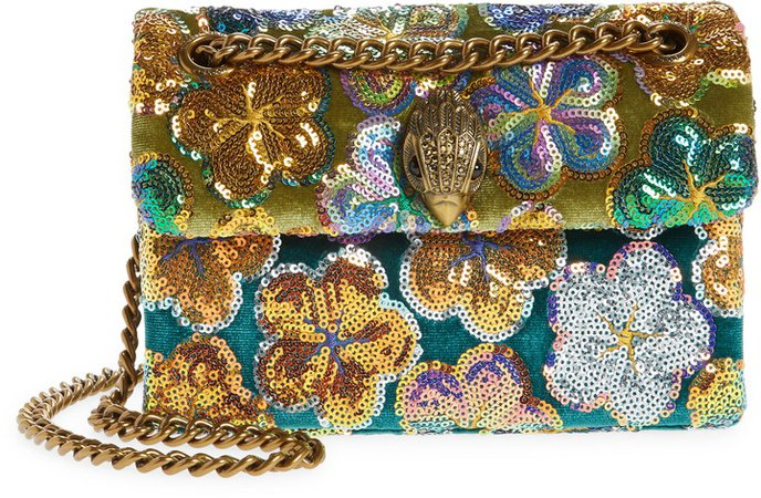 Mini Kensington Sequin Crossbody Bag