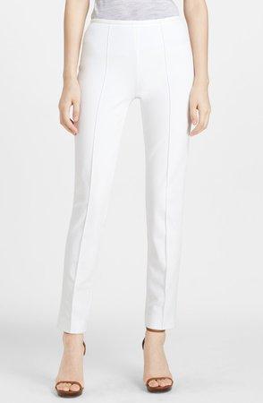 Skinny Stretch Cotton Twill Pants
