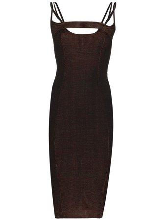 Isa Boulder open-back Knitted Dress - Farfetch
