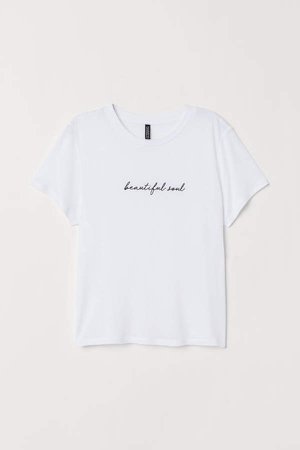 Viscose T-shirt - White