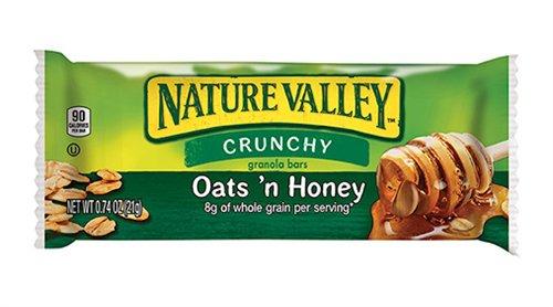 General Mills Nature Valley Oats N Honey Crunchy Granola Bar