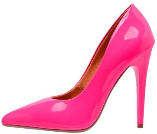 neon sapato