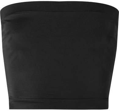 The Bella Bandeau Bikini Top - Black
