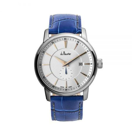 Maxim White Dial Blue Strap - out of stock - Du Maurier Watches