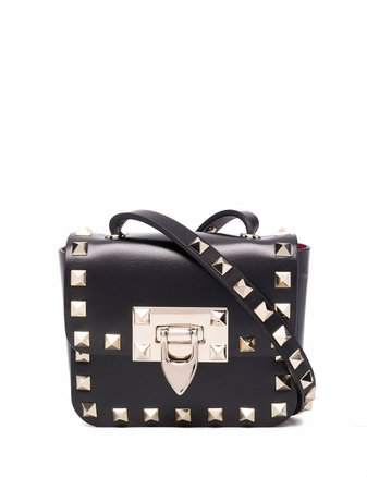 Shop Valentino Garavani Rockstud-embellishment mini bag with Express Delivery - FARFETCH