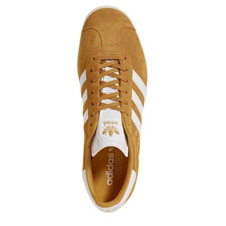 Adidas Originals Gazelle Shoes Gold/White/cream White