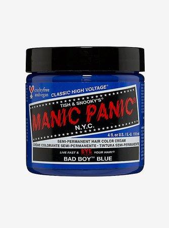 Manic Panic Bad Boy Blue Classic High Voltage Semi-Permanent Hair Dye