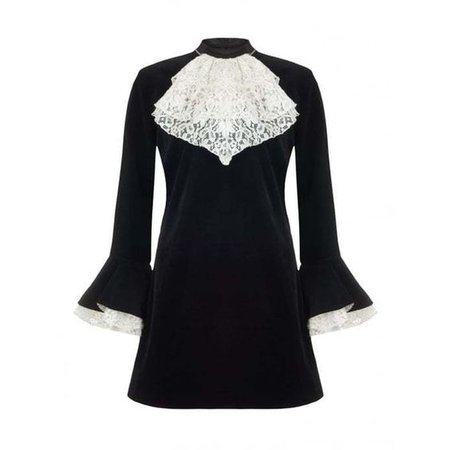 DandyLife 60s Victorian Velvet Dress