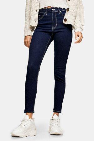 Indigo Raw Denim Jamie Skinny Jeans
