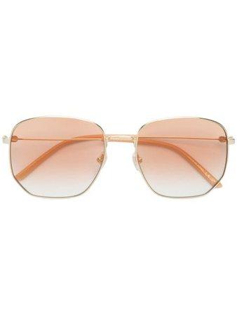 Gucci Eyewear Rectangular Frame Sunglasses - Farfetch