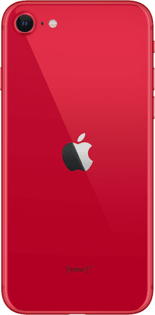 red iPhone SE