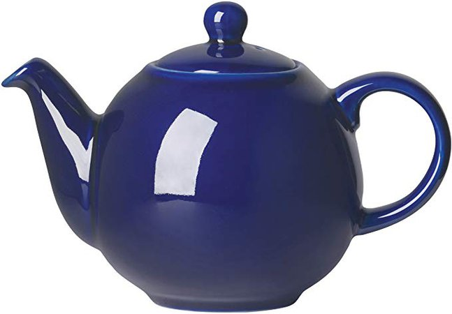 London Pottery Large Globe Teapot, 8 Cup Capacity, Cobalt Blue: Amazon.ca: Home & Kitchen
